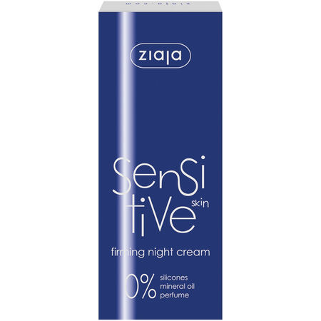 Ziaja Sensitive skin firming night cream