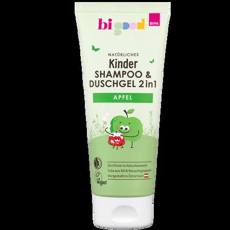 bi good Natürliches Kinder Duschgel&Shampoo 2in1