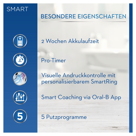 Oral-B Smart Sensitive elektrische Zahnbürste