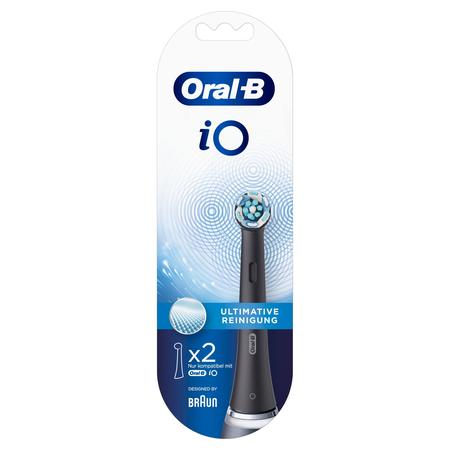 Oral-B Aufsteckbürsten Black iO Ultimative Reinigung