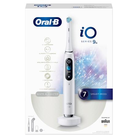 Oral-B elektrische Zahnbürste iO Series 9N White Alabaster