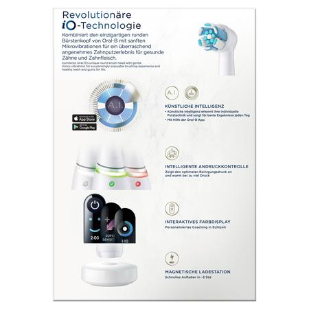 Oral-B elektrische Zahnbürste iO Series 8N White Alabaster