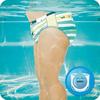 Bild: Pampers Splashers Größe3-4,   12Einweg-Schwimmwindeln