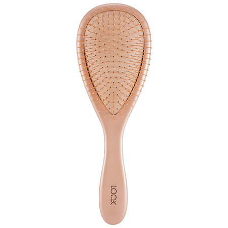 LOOK BY BIPA Wet & Dry Brush Oval Rosegold groß