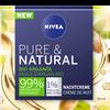 Bild: NIVEA Pure & Natural Nachtpflege