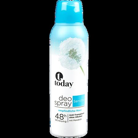 today Deo Spray Sensitiv
