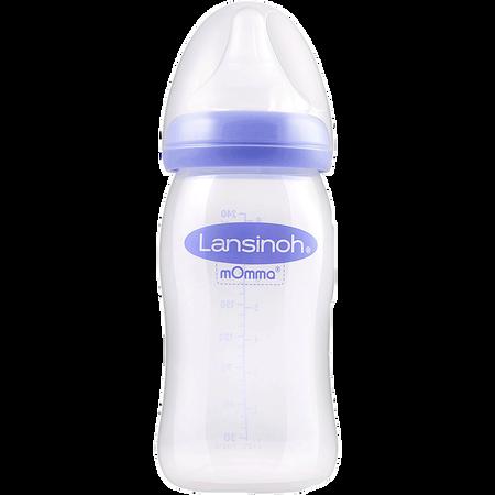 Lansinoh Weithalsflasche Natural Wave