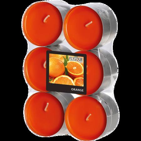 Gala Teelichter Orange