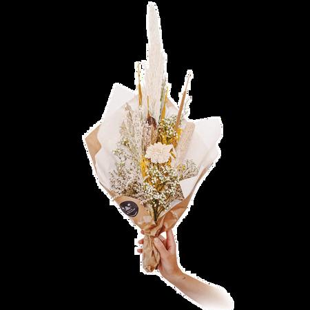 We Are Flowergirls Dried Flower Bouquet Vanilla