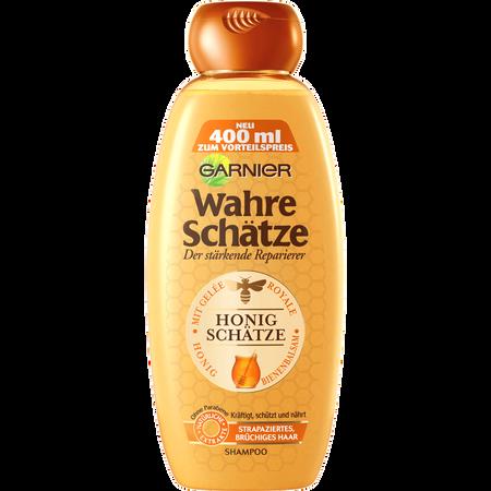 GARNIER Wahre Schätze Shampoo - Der stärkende Reparierer Honig Shampoo