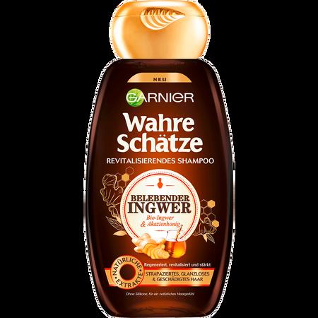 GARNIER Wahre Schätze Shampoo belebender Ingwer & Honig