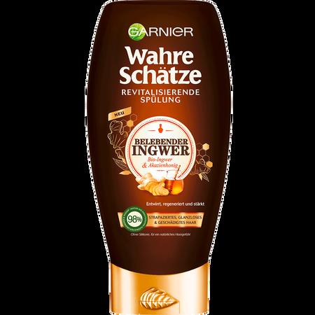 GARNIER Wahre Schätze Spülung belebender Ingwer & Honig