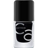 Bild: Catrice ICONails Gel Lacquer Nagellack black to the roots