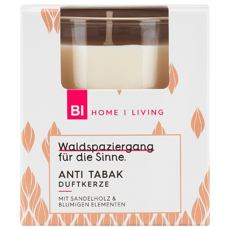 BI HOME Living Duftkerze Anti Tabak