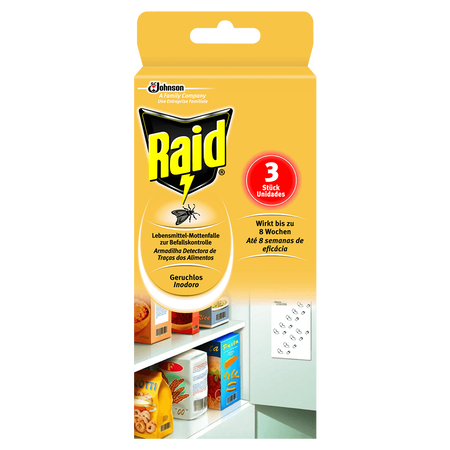 Raid Lebensmittel-Mottenfalle zur Bedarfskontrolle