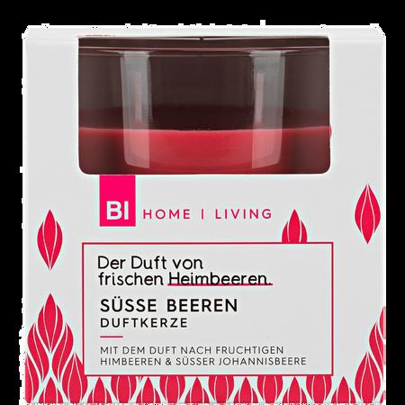 BI HOME Living Duftkerze Groß Beere