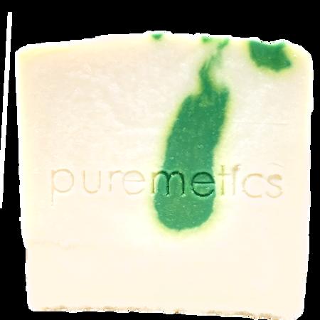 puremetics Gesichtspflegeseife Apfel Minze