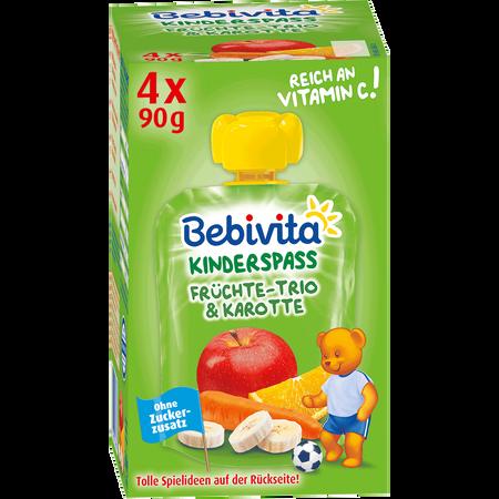 Bebivita Früchte-Trio & Karotte