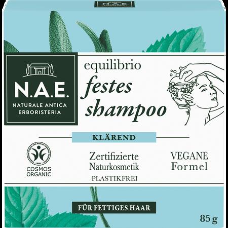 N.A.E. equilibrio klärendes festes Shampoo Minze Salbei