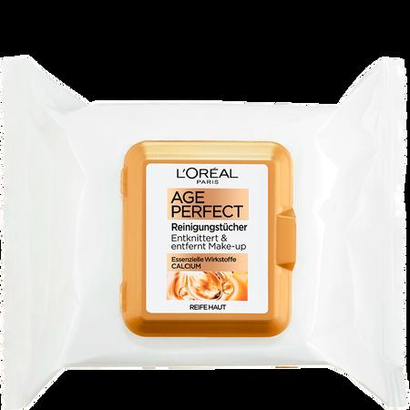 L'ORÉAL PARIS Age Perfect Reinigungstücher Calcium