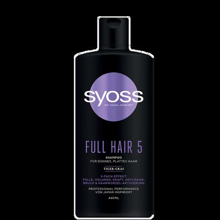 syoss PROFESSIONAL Shampoo Full Hair 5
