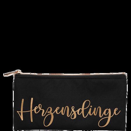 LOOK BY BIPA LBB Kosmetiktasche Herzensdinge Schwarz