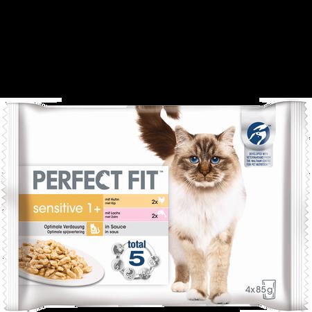 PERFECT FIT Sensitive 1+ Katzenfutter in Sauce