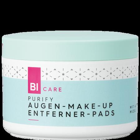BI CARE Augen-Make-up Entferner Pads Purify