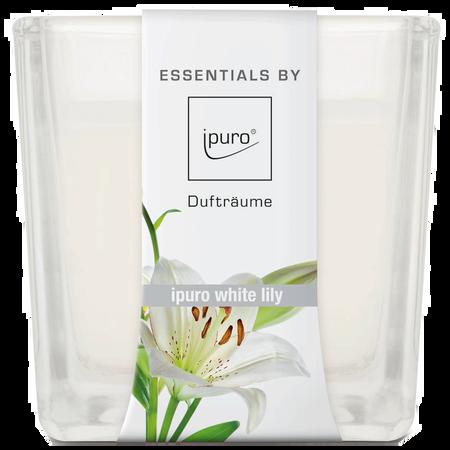 ipuro Duftkerze Essentials White Lily