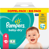 Bild: Pampers Baby-Dry Gr. 4 (9-14kg) Doppelpack