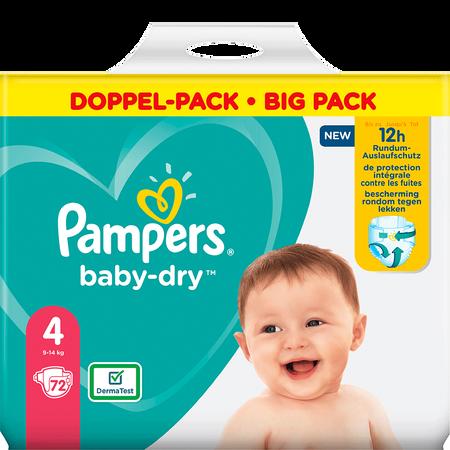 Pampers Baby-Dry Gr. 4 (9-14kg) Doppelpack