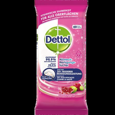 Dettol Allzweck Reinigungstücher Granatapfel & Limette