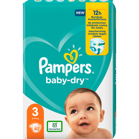 Pampers Baby-Dry Gr. 3 (6-10kg) Einzelpack