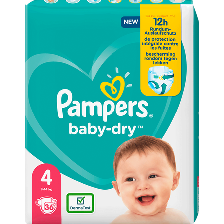 Pampers Baby-Dry Gr. 4 (9-14kg) Einzelpack