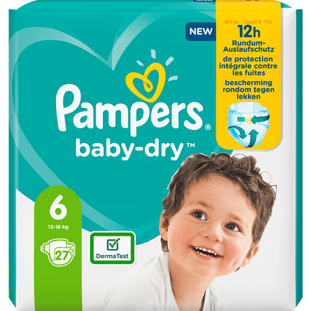 Pampers Baby-Dry Gr. 6 (13-18kg) Einzelpack