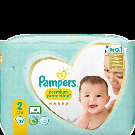 Pampers Premium Protection Gr. 2 (4-8kg) Tragepack