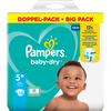 Bild: Pampers Baby-Dry Gr. 5+ (12-17kg) Doppelpack