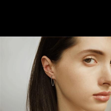ILINA Jewelry Ear Jackets Eleonora
