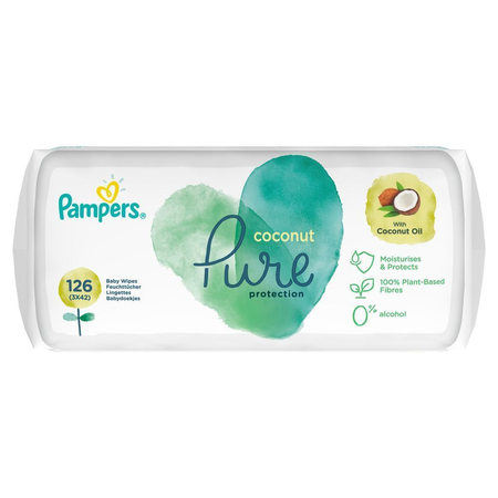 Pampers Pure Protection Feuchttücher Coconut