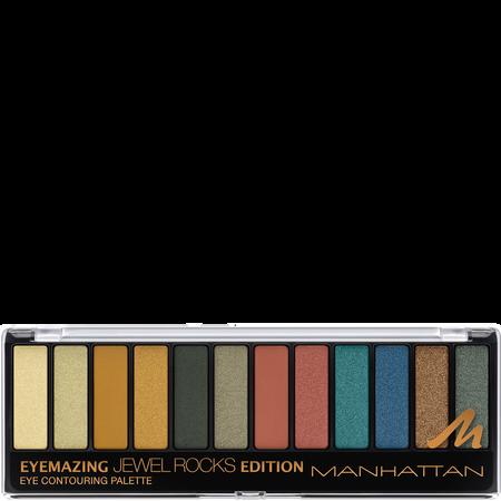 MANHATTAN Manhattan Eyemazing Eye contouring Palette 007