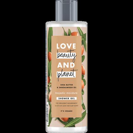 Love Beauty &  Planet Shower Gel Shea Butter & Sandalwood Oil