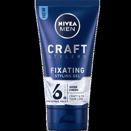 Bild: NIVEA MEN Craft Stylers Fixating Styling Gel Extra Strong Hold  NIVEA MEN Craft Stylers Fixating Styling Gel Extra Strong Hold