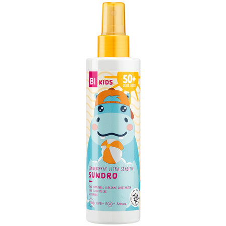 BI KIDS Kinder Sonnenspray Ultra Sensitiv Sundro LSF 50+