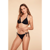 Bild: p2 Triangel Bikini Einfärbig schwarz