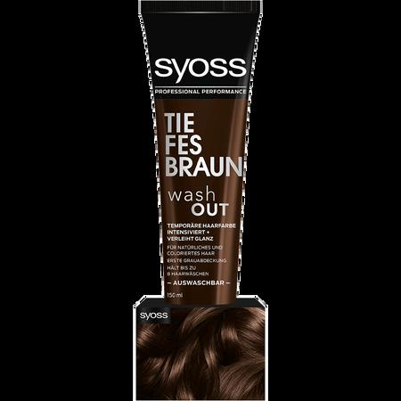 Bild: syoss PROFESSIONAL Washout Haarfarbe Tiefes Braun syoss PROFESSIONAL Washout Haarfarbe