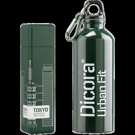 Dicora Duftbox Urban Fit Tokyo mit Trinkflasche Eau de Toilette (EdT)