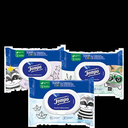 Tempo Feuchtes Toilettenpapier Sanft
