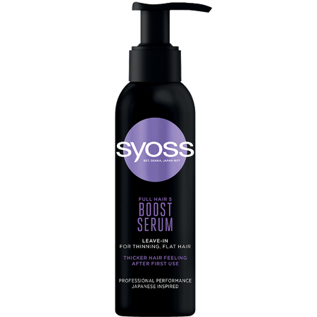 syoss PROFESSIONAL Boost Serum Full Hair 5
