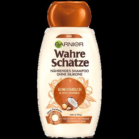 GARNIER Wahre Schätze Shampoo Kokosmilch & Macadamia