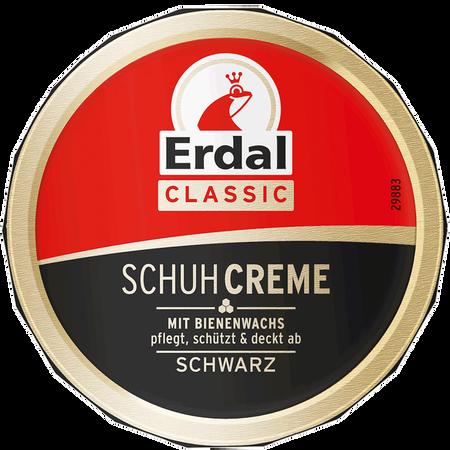 Erdal Schuhcreme Dose Schwarz